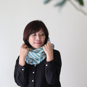 Pine Bough Cowl キット -Kelbourne Woolens Scout- (日本語パターン付き)