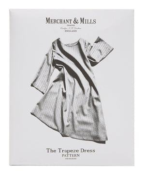 THE TRAPEZE DRESS-Patterns