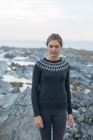 Lighthouse Pullover キット(日本語パターン付き)