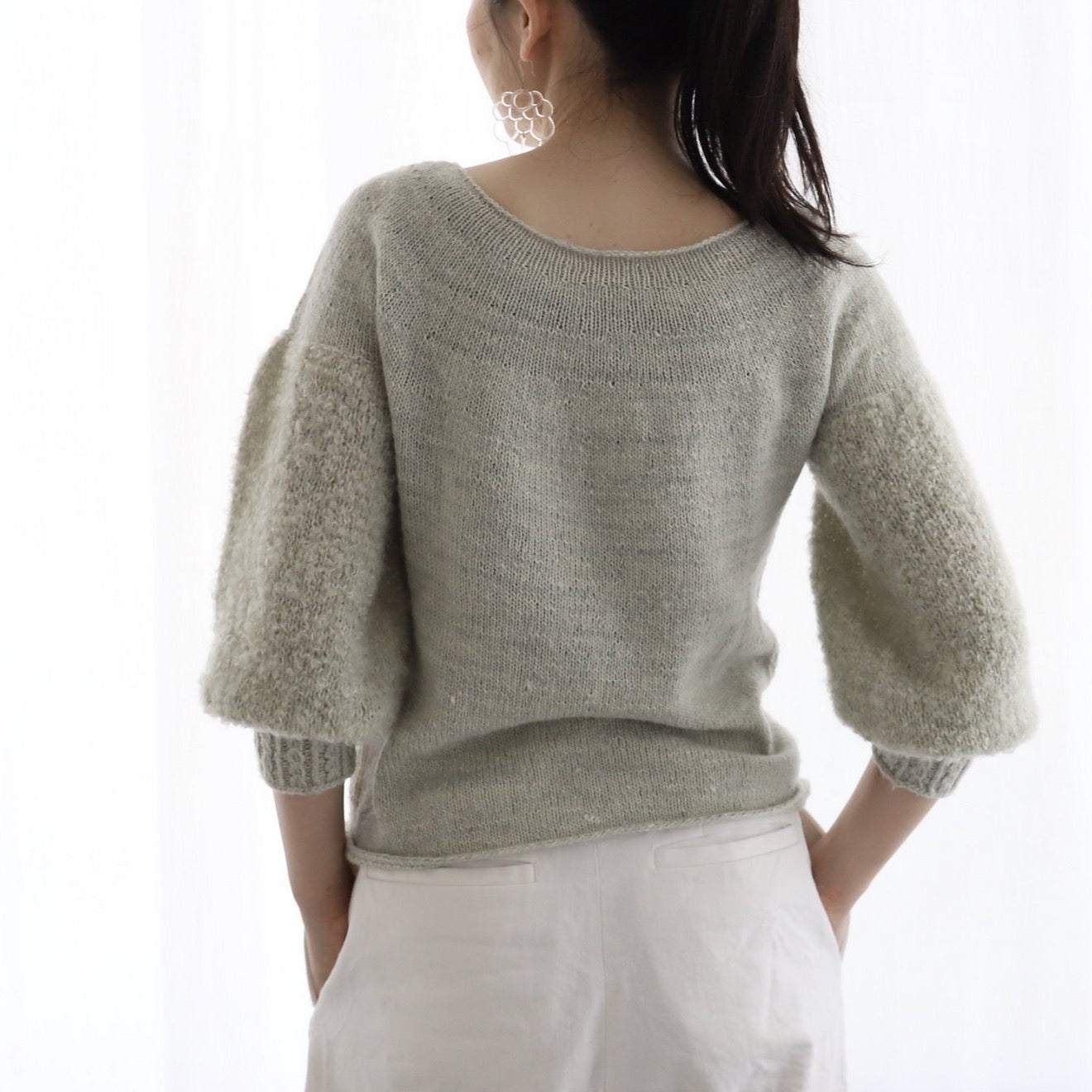 Poodle Pullover キット (日本語パターン付き)