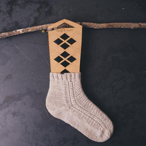 twig & horn Sock Blockers