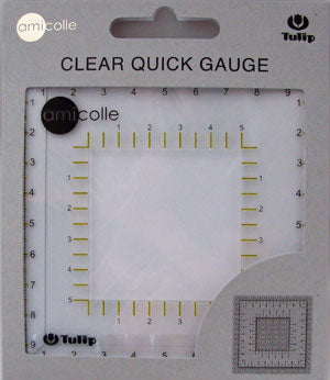 Clear Quick Gauge