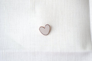 soft pink little heart