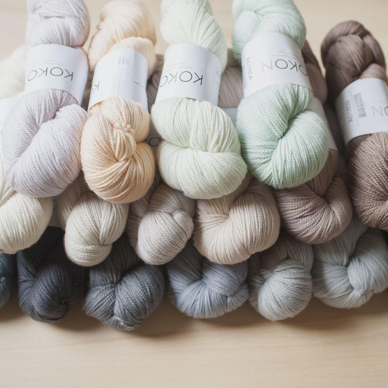 KOKON FINGERING WEIGHT MERINO