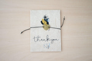 NOMADNOOS Thank you  card & bracelet