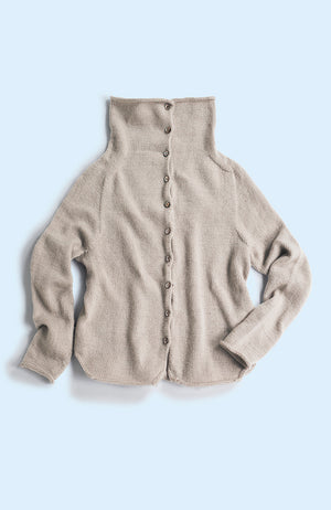 Turtleneck Cardigan キット
