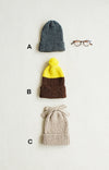 3 types Hat kit (English pattern with Japanese auxiliary translation)