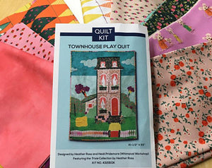 TRIXIE - Town House Play Quilt Kit