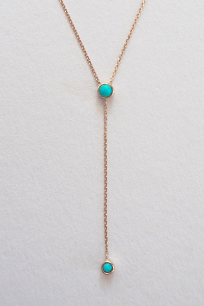 TOVA TURQUOISE DROP NECKLACE