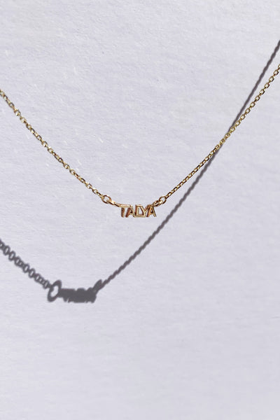 BESPOKE PETITE NAME NECKLACE