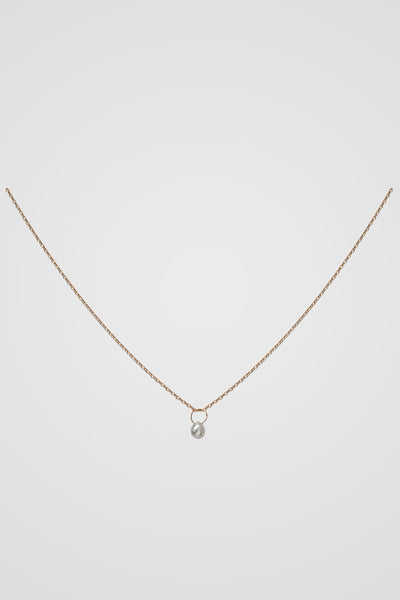 ROSE CUT BRIOLETTE NECKLACE