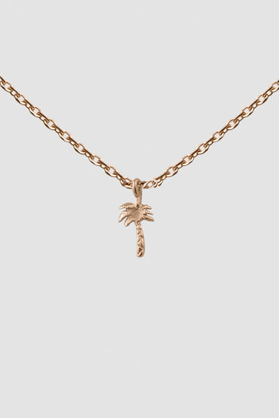 PETITE PALM NECKLACE