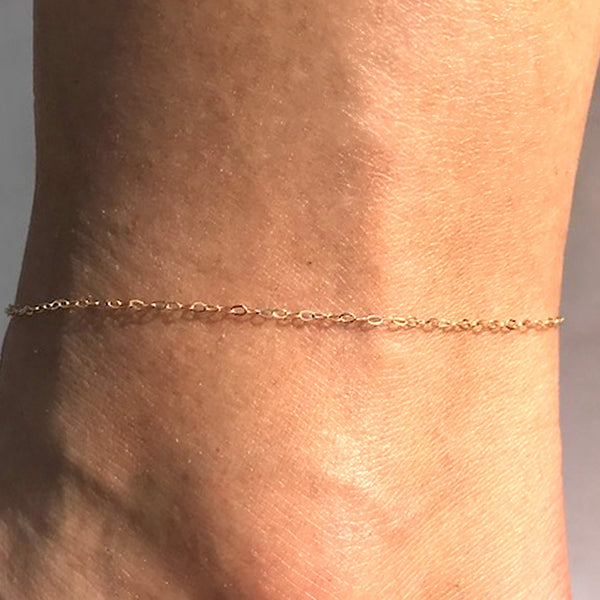 SKIN CHAIN ANKLET