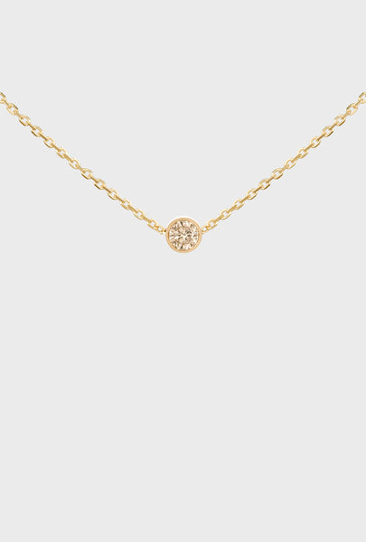 ÉTOILE SOLITAIRE NECKLACE