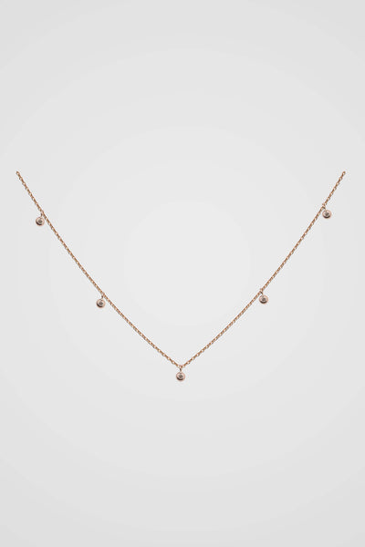 ÉTOILE DIAMOND CHARM NECKLACE