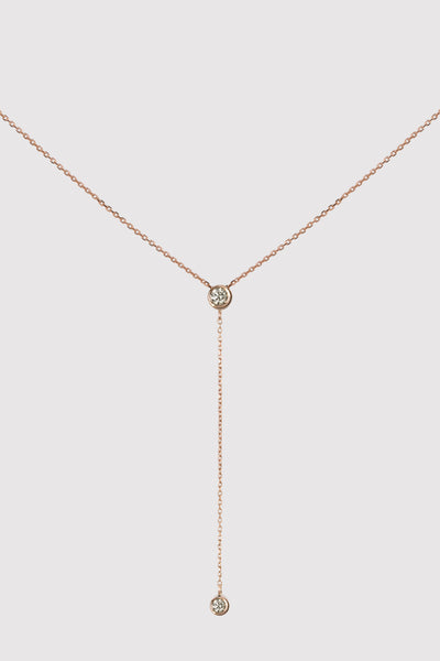 ÉTOILE DROP SOLITAIRE NECKLACE
