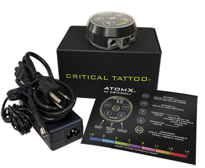 ATOM X POWER SUPPLY BY CRITICAL