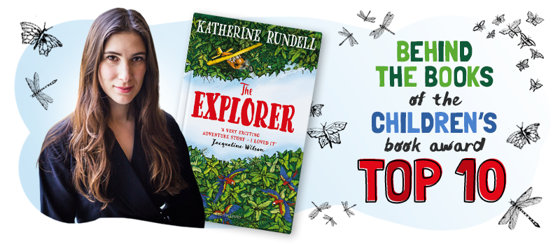 Our Book Awards interview with Katherine Rundell