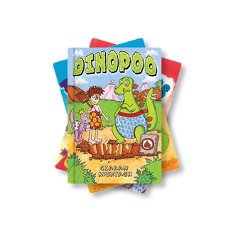 Dino Stories <br>LKS2 <br>(4 Books)