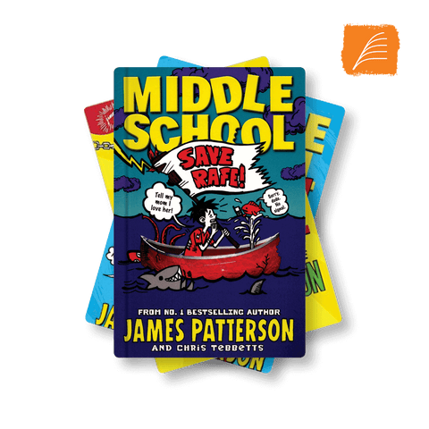 James Patterson <br> UKS2 <br> (3 Books) by BookLife