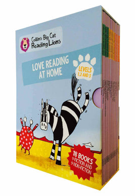 Big Cat Reading Lions Level 1-3 Collection (18 Books) by BookLife