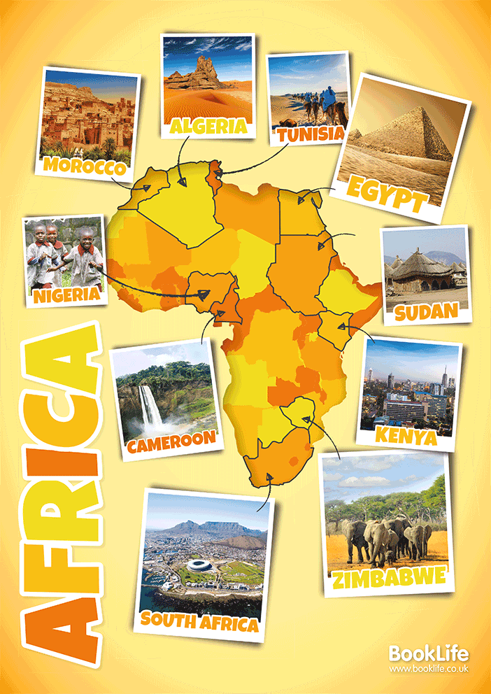 Africa Poster by BookLife