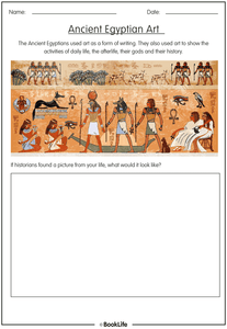 Ancient Egyptian Art by BookLife