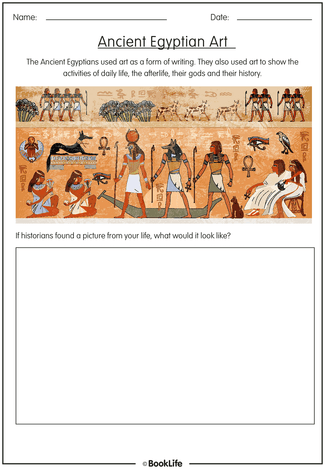 Ancient Egyptian Activity Sheet
