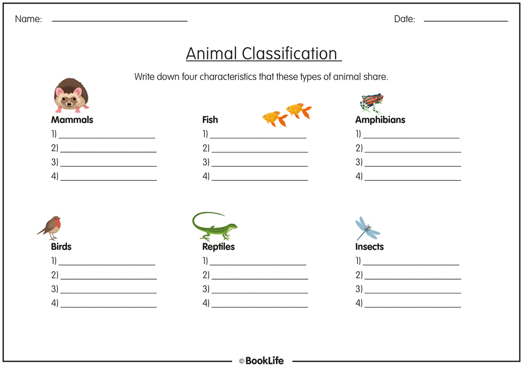 Animal Classification by BookLife