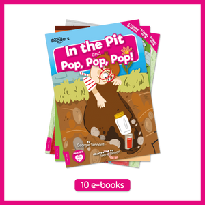 Booklife Readers Level 1: Pink E-Books (10 Books)