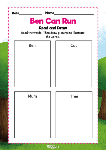 BookLife Readers Level 01 Pink: Free Resources