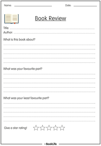 Literacy Activity Sheet