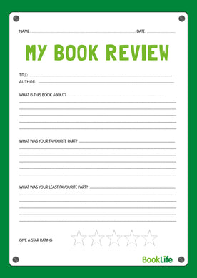 Free 'My Book Review' Worksheet by BookLife