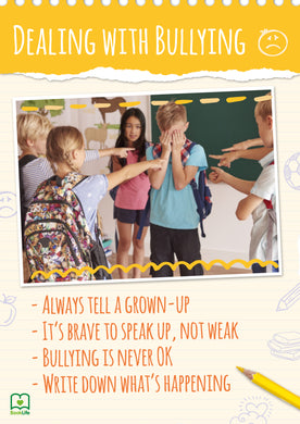 Free Dealing with Bullying Poster by BookLife
