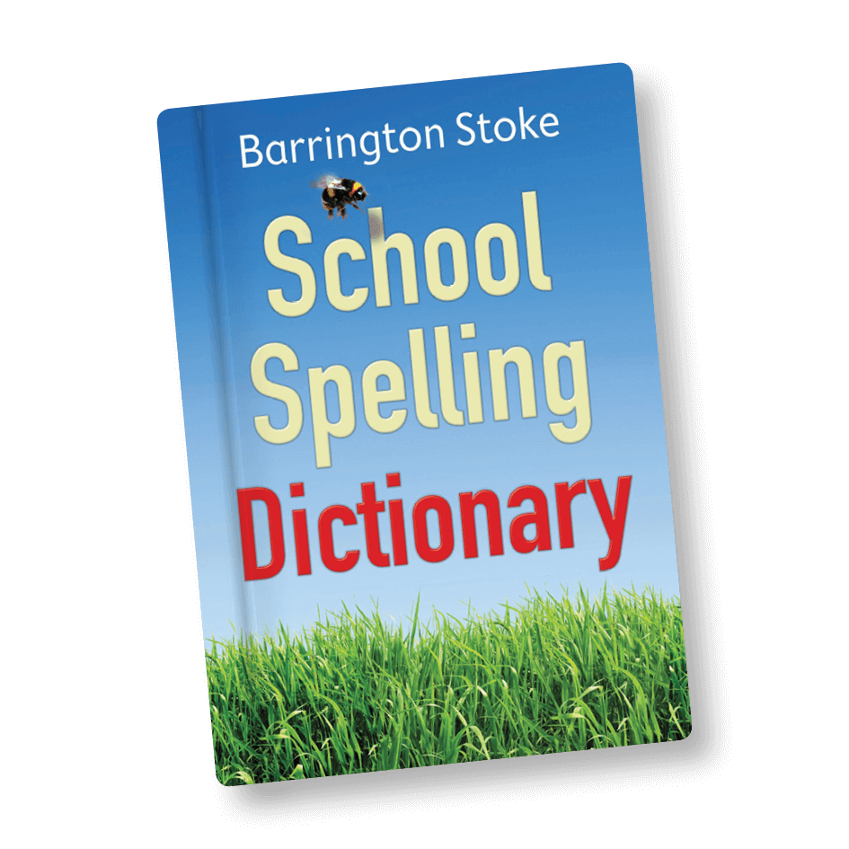 School Spelling Dictionary (Dyslexia Friendly) by BookLife