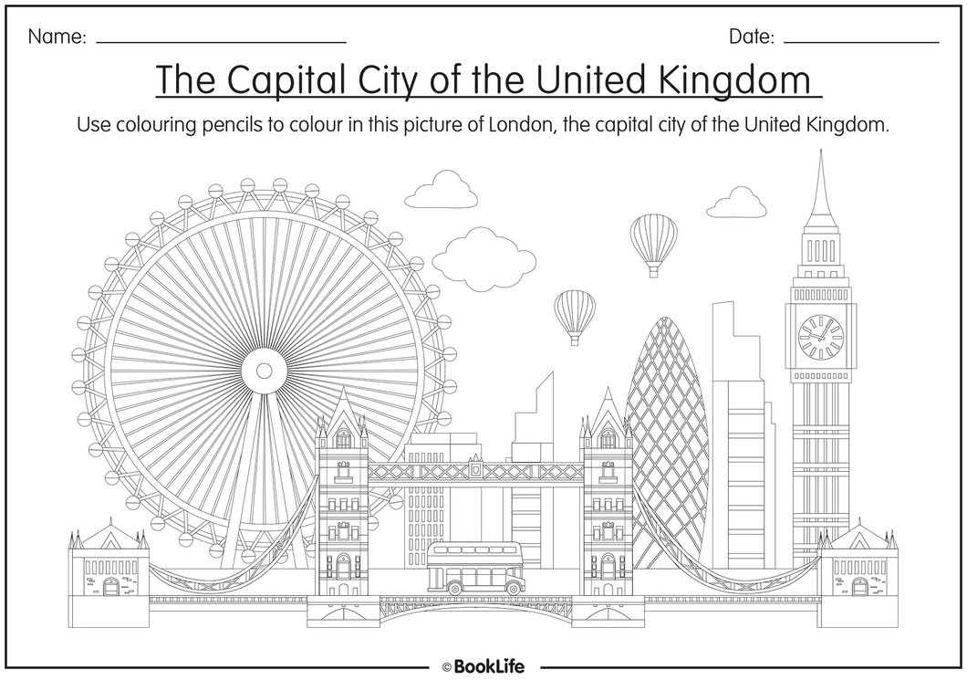 Colour The Capital City by BookLife