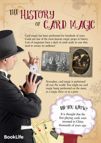 Free Card Magic Poster by BookLife
