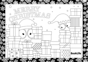 Free Christmas Colouring Sheet by BookLife