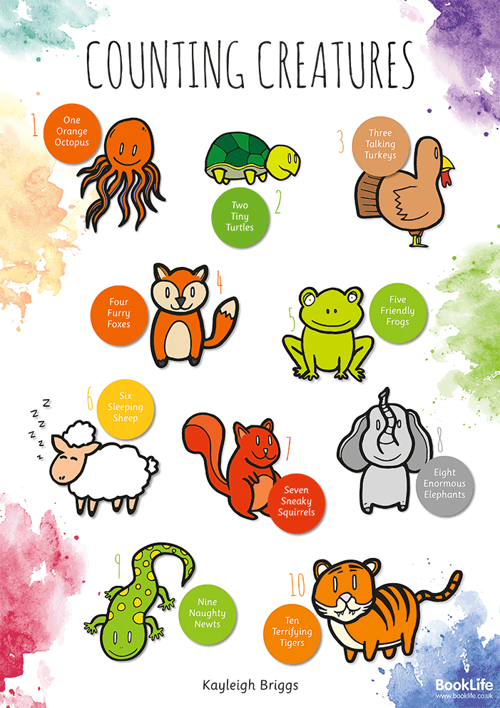Counting Creatures Poster by BookLife