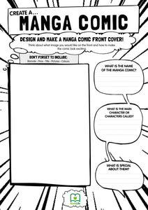 Free Downloadable Manga Worksheet by BookLife