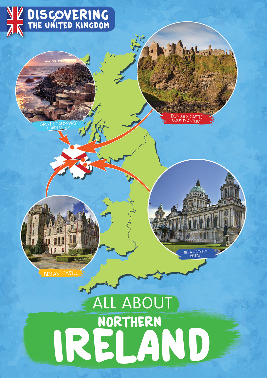 Discovering the United Kingdom: All About Northern Ireland e-Book