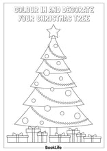 Load image into Gallery viewer, Decorate Your Christmas Tree Activity Sheet