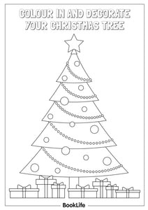 Decorate Your Christmas Tree Activity Sheet