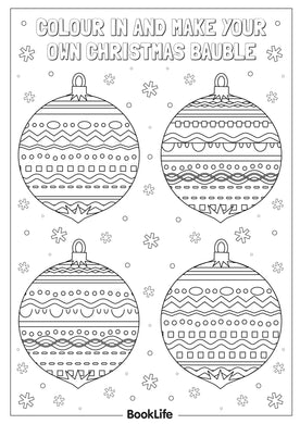 Christmas Decorations Activity Sheet