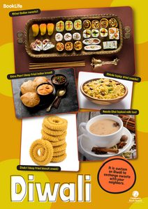 Diwali Food Poster by BookLife