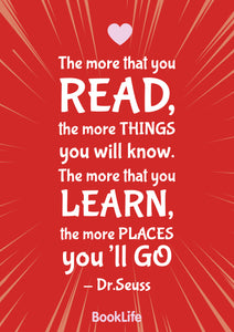 Free Dr Seuss Quote Poster by BookLife