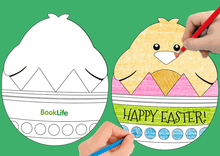 Load image into Gallery viewer, Easter Card by BookLife