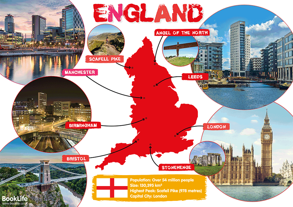 Map Of England Poster.Free Map Of England Poster Booklife