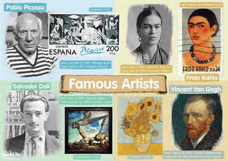 Free Famous Artists Poster