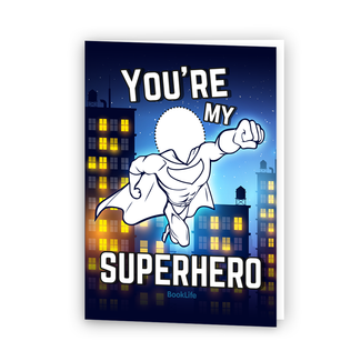 Free Father's Day Superhero Card